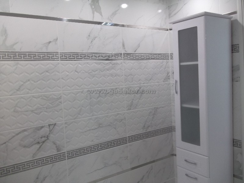 doğal görünümlü seramik modelli, beyaz duvar seramiği