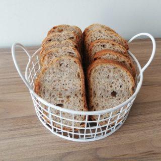 Yuvarlak Tel Çok Amaçlı Sevimli Ekmek Sepeti (BEYAZ)